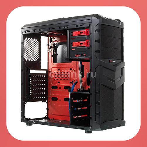 Корпус ATX AEROCOOL MC4, Midi-Tower, описание, фото, цена