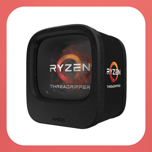 AMD Ryzen Threadripper 1950X (16-core/32-thread) Desktop Processor (YD195XA8AEWOF)