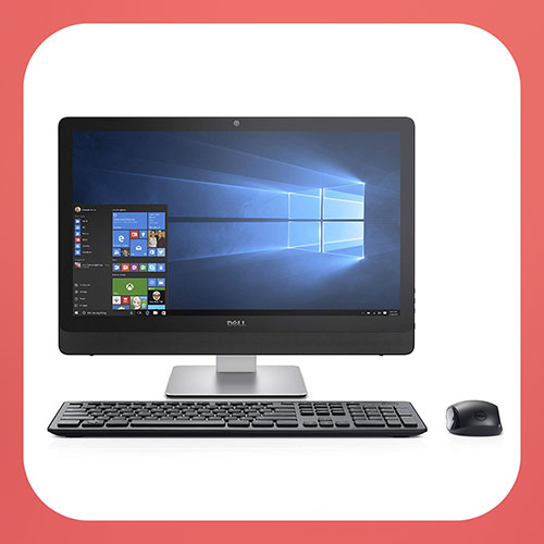 Dell Inspiron 3464 i3464-3038BLK-PUS All-in-One Desktop, 23.8""