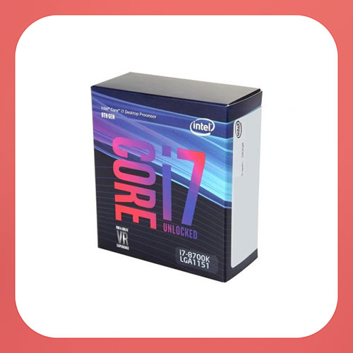 Intel Core i7-8700K Desktop Processor 6 Cores up to 4.7GHz Turbo Unlocked LGA1151