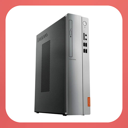 Lenovo IdeaCentre 310S-08ASR Desktop - AMD A9-Series - 4GB Memory - 1TB Hard Drive - Black/Silver