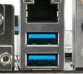 Разъемы USB 3.0 на материнской плате ПК