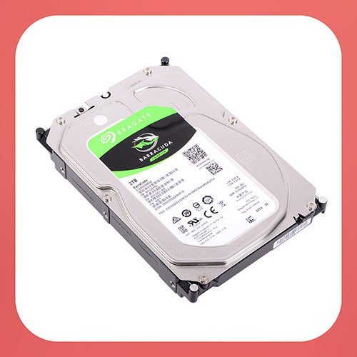 "Жесткий диск SEAGATE Barracuda ST2000DM008, 2Тб, HDD, SATA III, 3.5"", 7200 rpm"