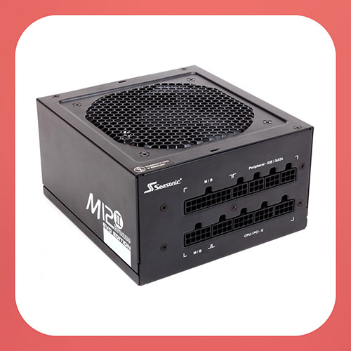 Модульный блок питания SEASONIC M12II-520 (SS-520GM), 520Вт, 80Plus Bronze Full Modular PSU