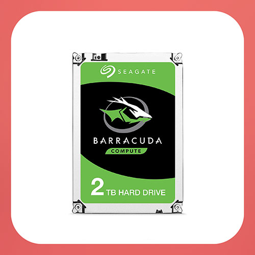 Seagate BarraCuda Internal Hard Drive 2TB SATA 6Gb/s 128MB Cache 2.5-Inch 7mm (ST2000LM015)