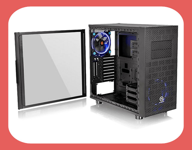 Thermaltake Core X31 Tempered Glass Edition Mid Tower Chassis - Корпус для игрового компьютера на Ryzen 7 1800X