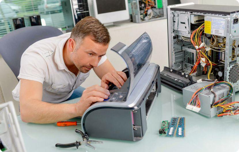 Ремонт и обслуживание офисной техники в Москве